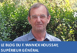 Blog du F. Yannick Houssay, Supérieur général