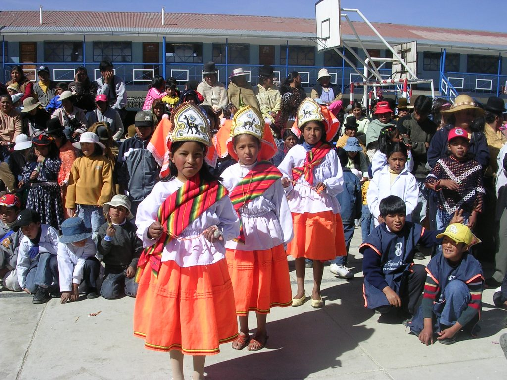 Photo Ce qui me frappe B + Ecole Luis Espinal. El Alto. Bolivie
