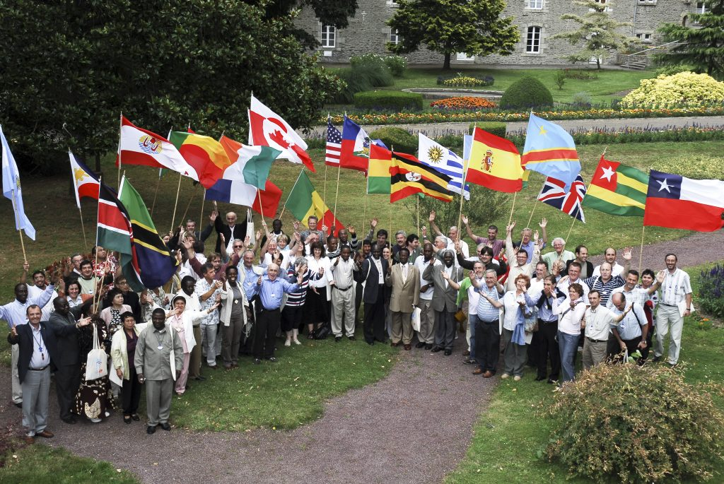 Photo. 1st international Assembly of the Mennaisian Family, Ploërmel, France, 2008.