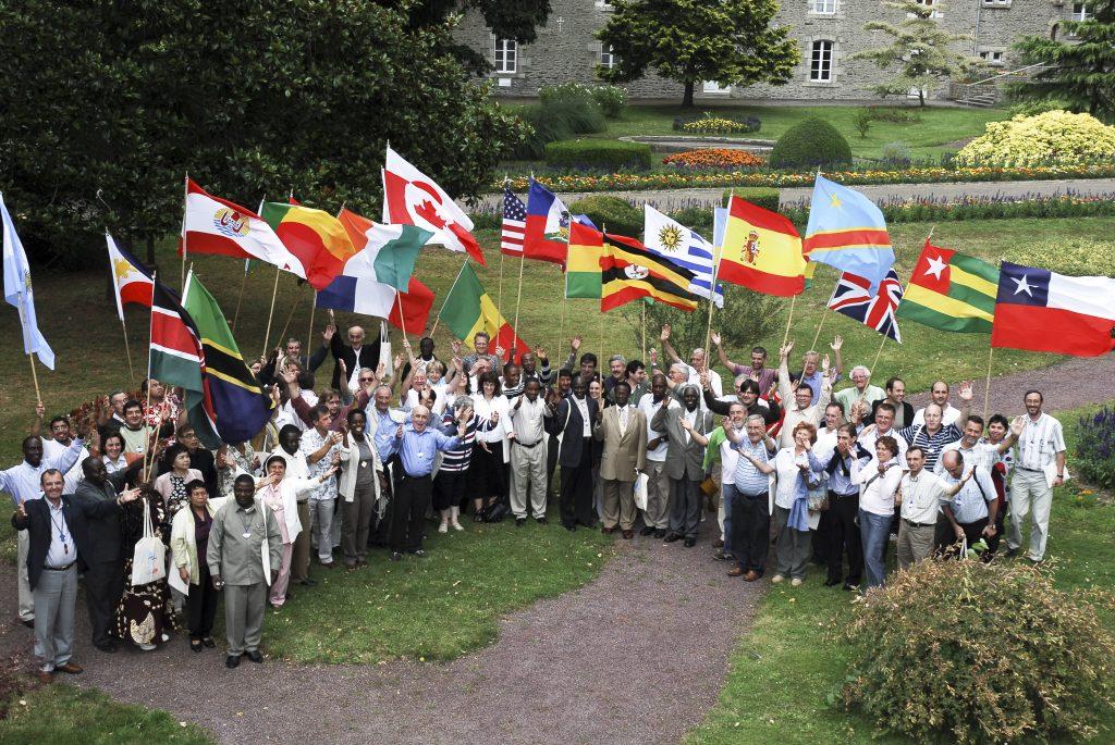Photo. 1st international Assembly of the Mennaisian Family, Ploërmel, France, 2008.