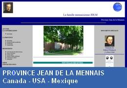 PROVINCE JEAN DE LA MENNAIS